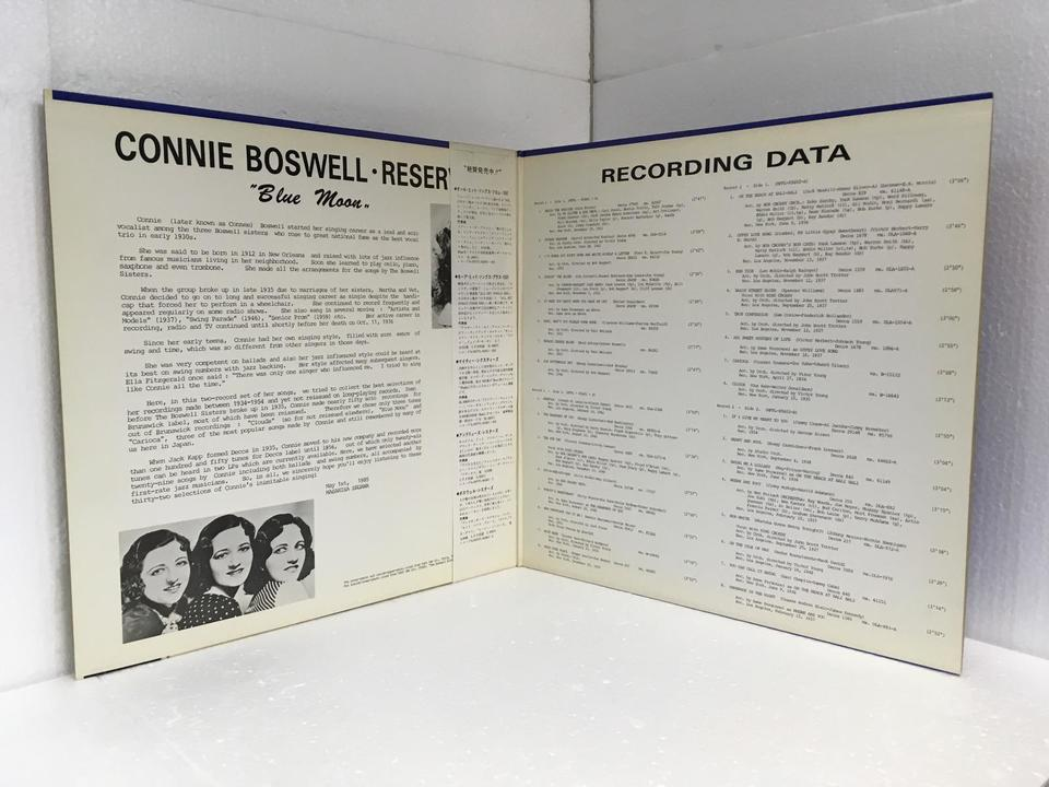 BLLUE MOON/CONNIE BOSWELL RESERVED CONNIE BOSWELL RESERVED 画像