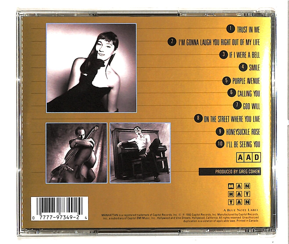 BLAME IT ON MY YOUTH/HOLLY COLE HOLLY COLE 画像