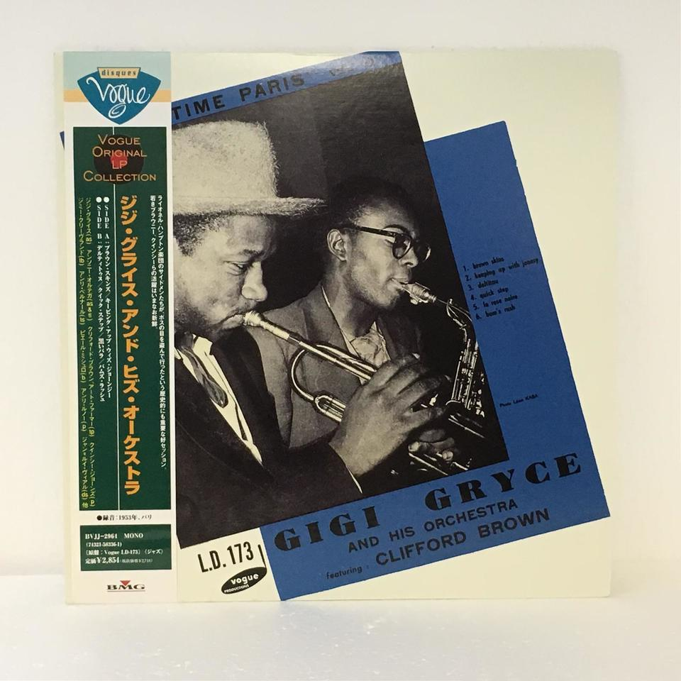 """JAZZ TIME PARIS""VOL.10/GIGI GRYCE AND HIS ORCHESTRA GIGI GRYCE 画像"