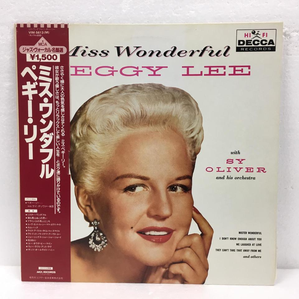 MISS WANDERFUL/PEGGY LEE PEGGY LEE 画像