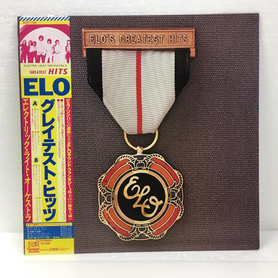 ELO'S GREATEST HITS/ELECTORIC LIGHT ORCHESTRA ELECTORIC LIGHT ORCHESTRA 画像