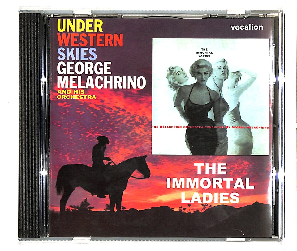 THE IMMORTAL LADIES & UNDER WESTERN SKIES/GEORGE MELACHRINO GEORGE MELACHRINO 画像