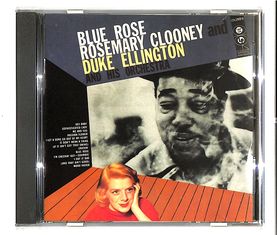 BLUE ROSE/ROSEMARY CLOONEY ROSEMARY CLOONEY/DUKE ELLINGTON 画像