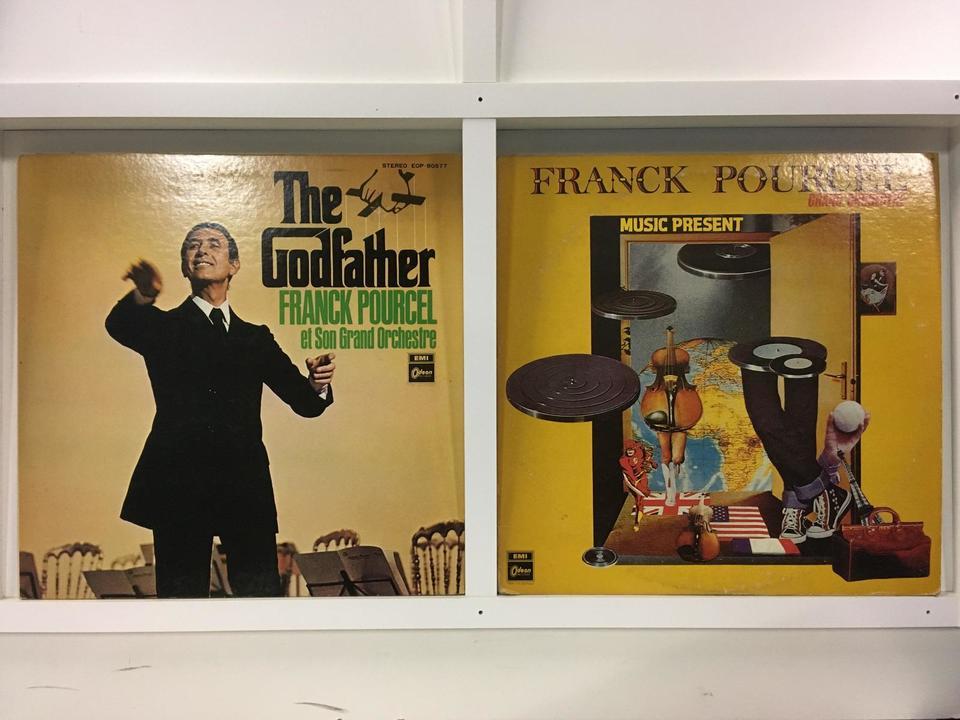 フランク・プゥルセル 4枚セット  画像