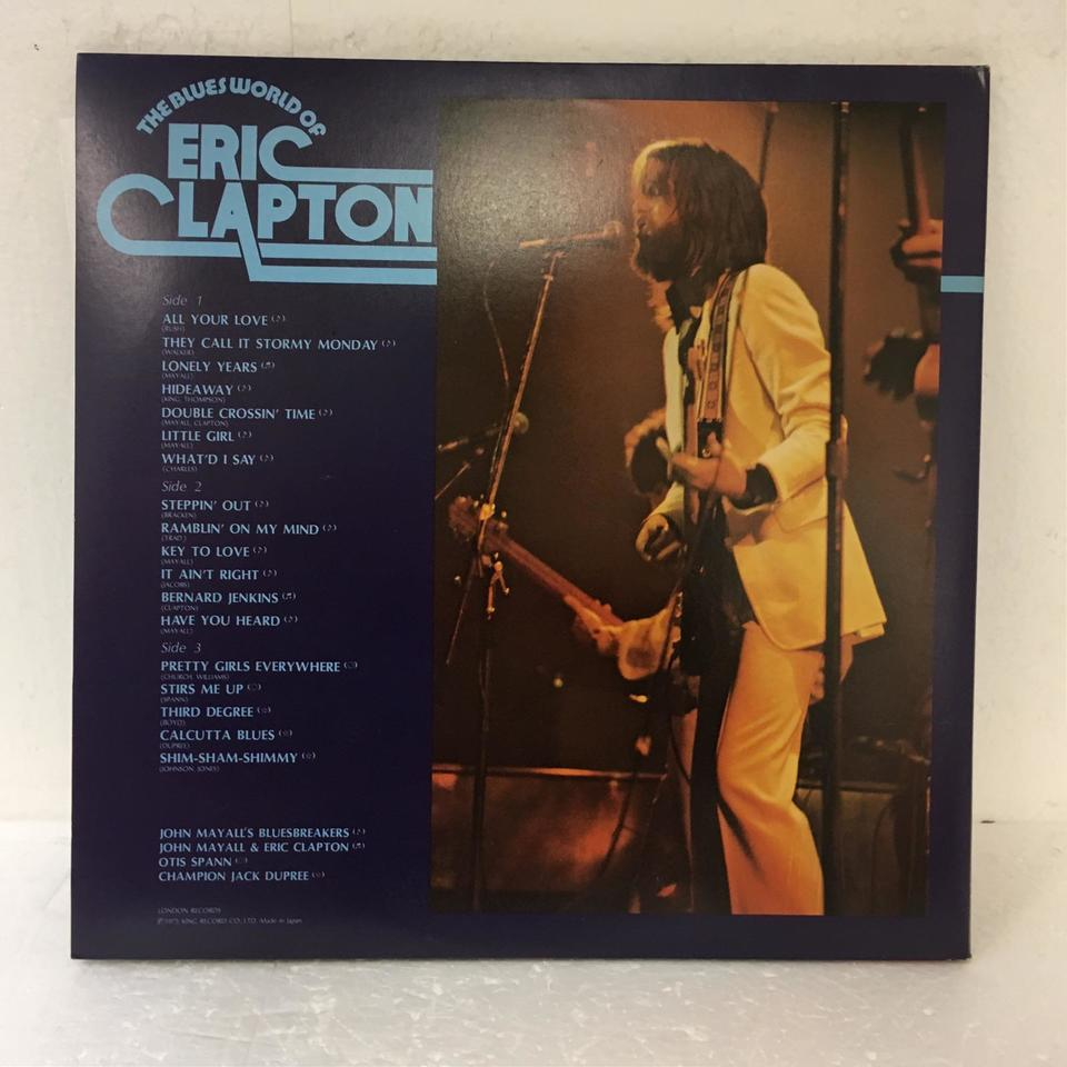 THE BLUES WORLD OF ERIC CLAPTON ERIC CLAPTON 画像