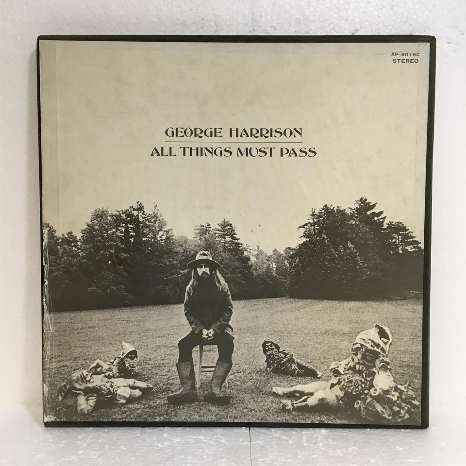 ALL THINGS MUST PASS/GEORGE HARRISON GEORGE HARRISON 画像