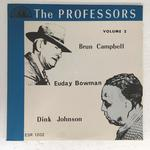【未開封】THE PROFESSORS/BRUN CAMBELL, DINK JOHNSON, EUDAY L. BOWMAN