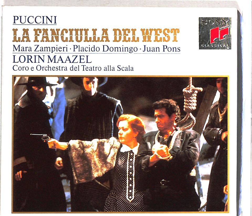 プッチーニ:歌劇「西部の娘」全曲 プッチーニ 画像