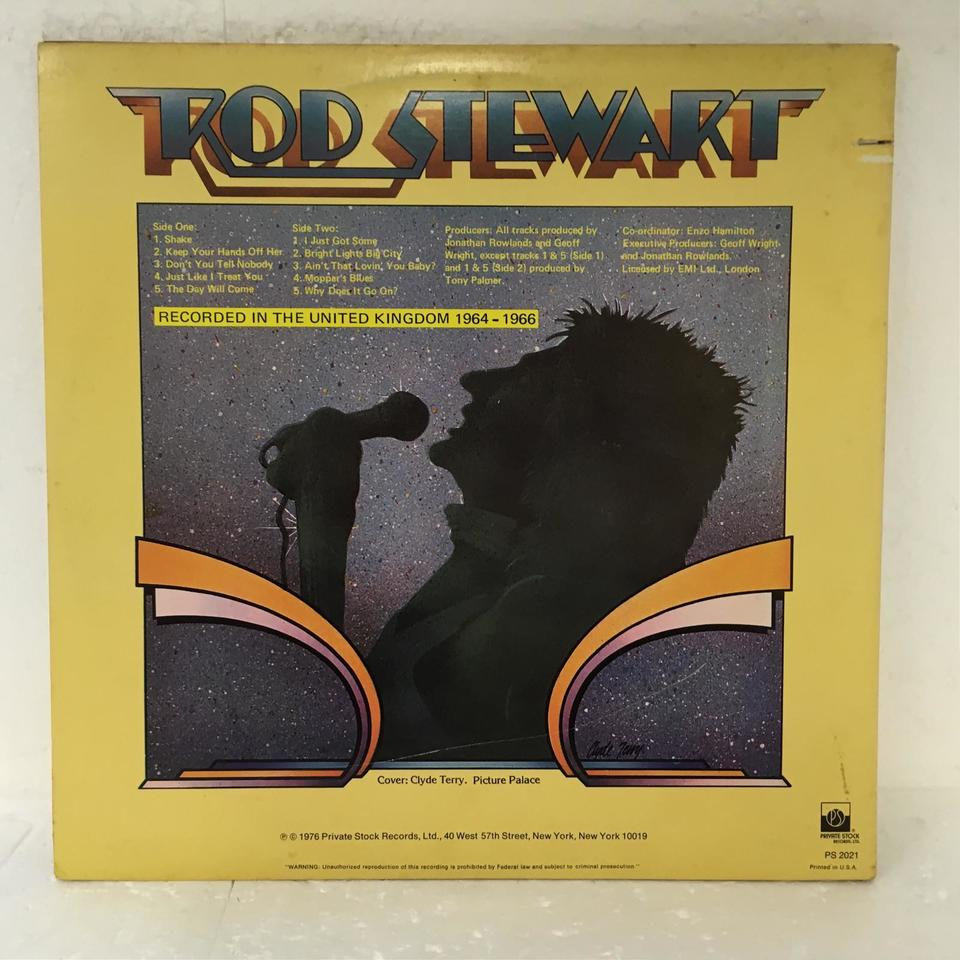 A SHOT OF RHYTHM AND BLUES/ROD STEWART ROD STEWART 画像