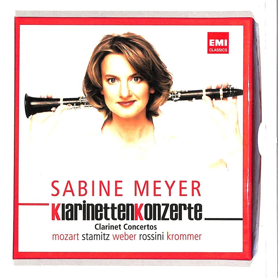 SABINE MEYER KLARINETTEN KONZERTE モーツァルト/カール・シュターミッツ/クラマーシュ/ウェーバー 画像