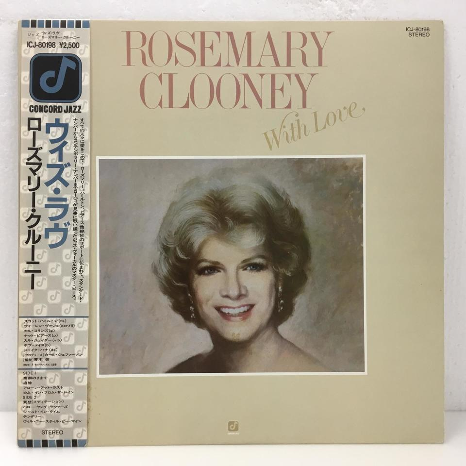 WITH LOVE/ROSEMARY CLOONEY ROSEMARY CLOONEY 画像