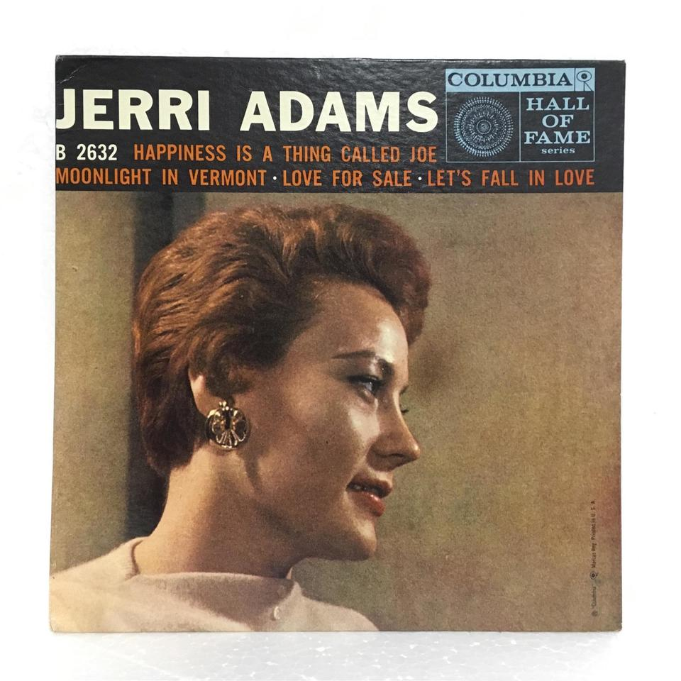 HAPPINESS IS A THING CALLED/JERRI ADAMS  画像
