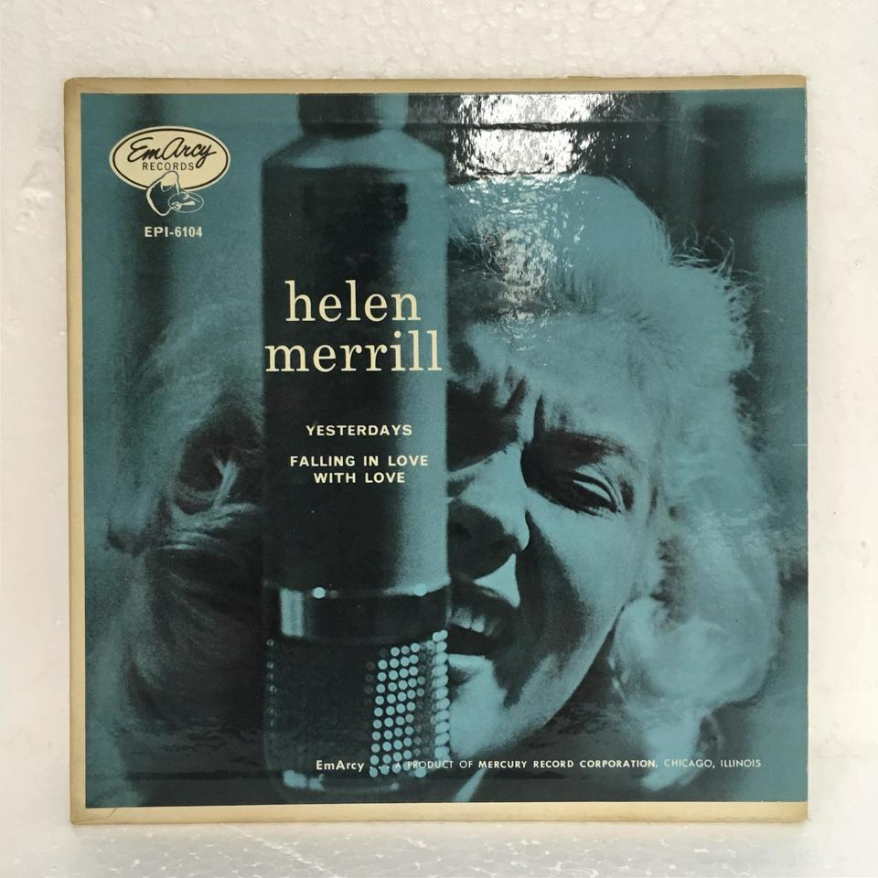 「YESTERDAYS」「FALLING IN LOVE WITH LOVE」/HELEN MERRILL  画像