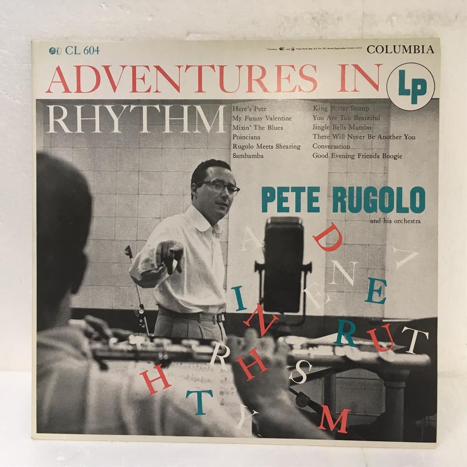 ADVENTURES IN RHYTHM/PETE RUGOLO PETE RUGOLO 画像