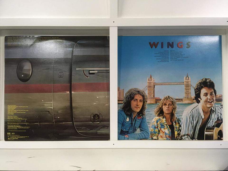 ポール・マッカートニー(ウイングス) 4枚セット  画像