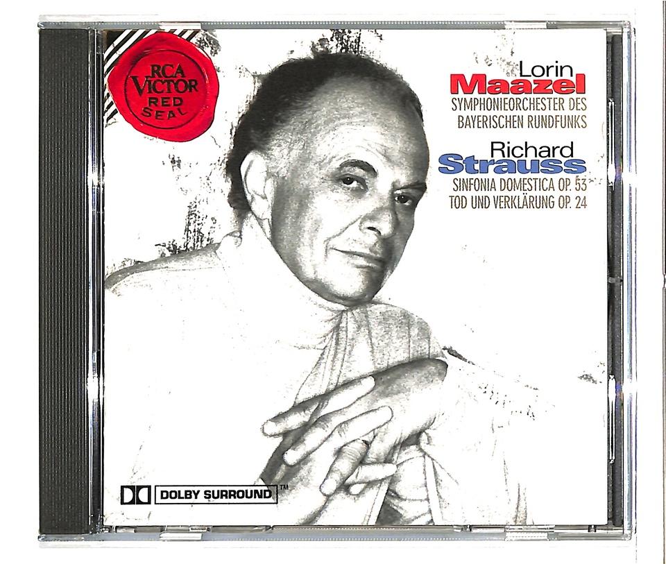 R.シュトラウス:家庭交響曲、交響詩「死と変容」 R.シュトラウス 画像