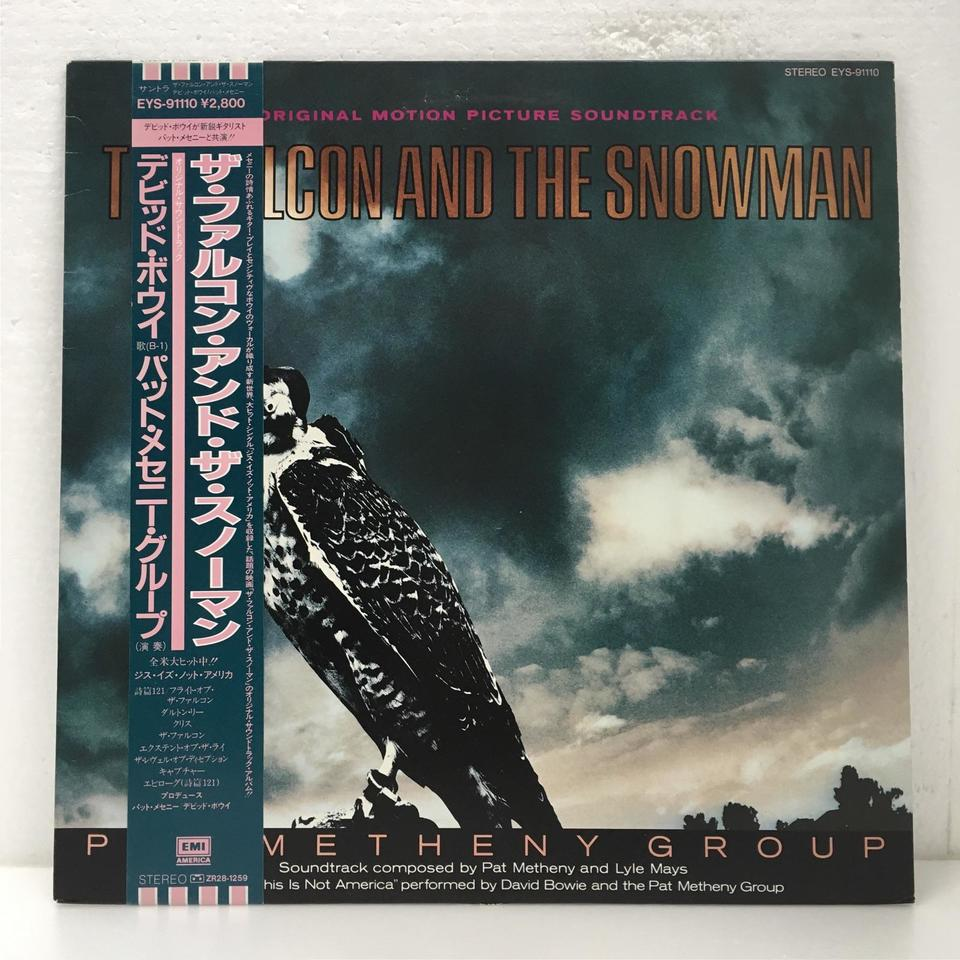 THE FALCON AND THE SNOWMAN ORIGINAL MOTION PICTURE SOUNDTRACK  画像