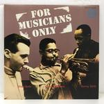 FOR MUSICIANS ONLY/DIZZY GILLESPIE