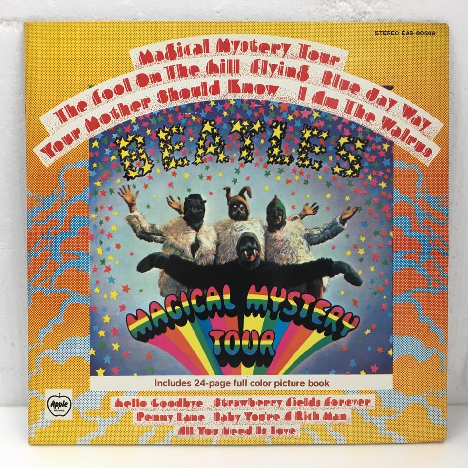 MAGICAL MYSTERY TOUR/THE BEATLES THE BEATLES 画像