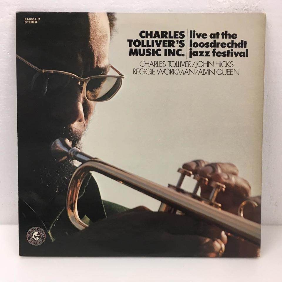 LIVE AT THE LOOSDRECHDT JAZZ FESTIVAL/CHARLES TOLLIVER'S MUSIC INC. CHARLES TOLLIVER 画像