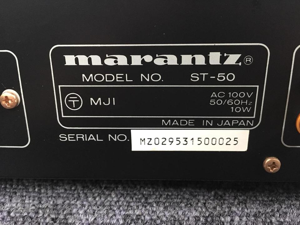 ST-50 marantz 画像