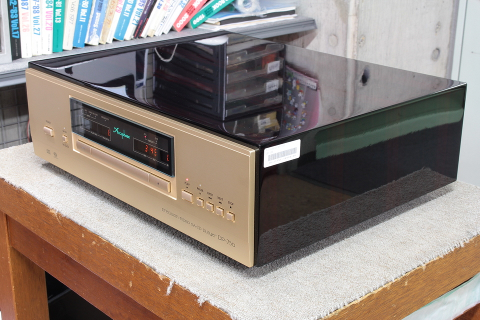 DP-750 Accuphase 画像