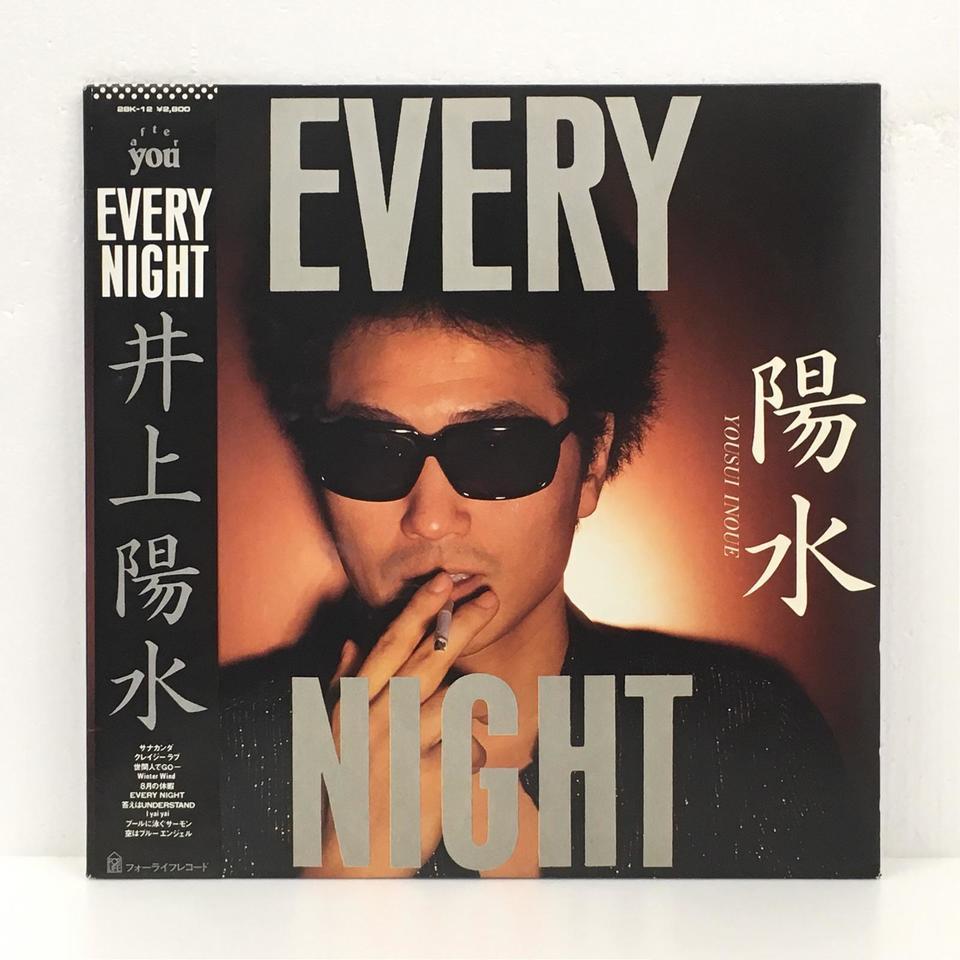 EVERY NIGHT/井上陽水 井上陽水 画像