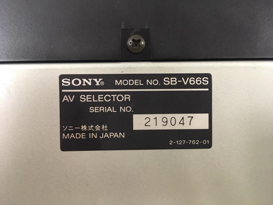 SB-V66S SONY 画像