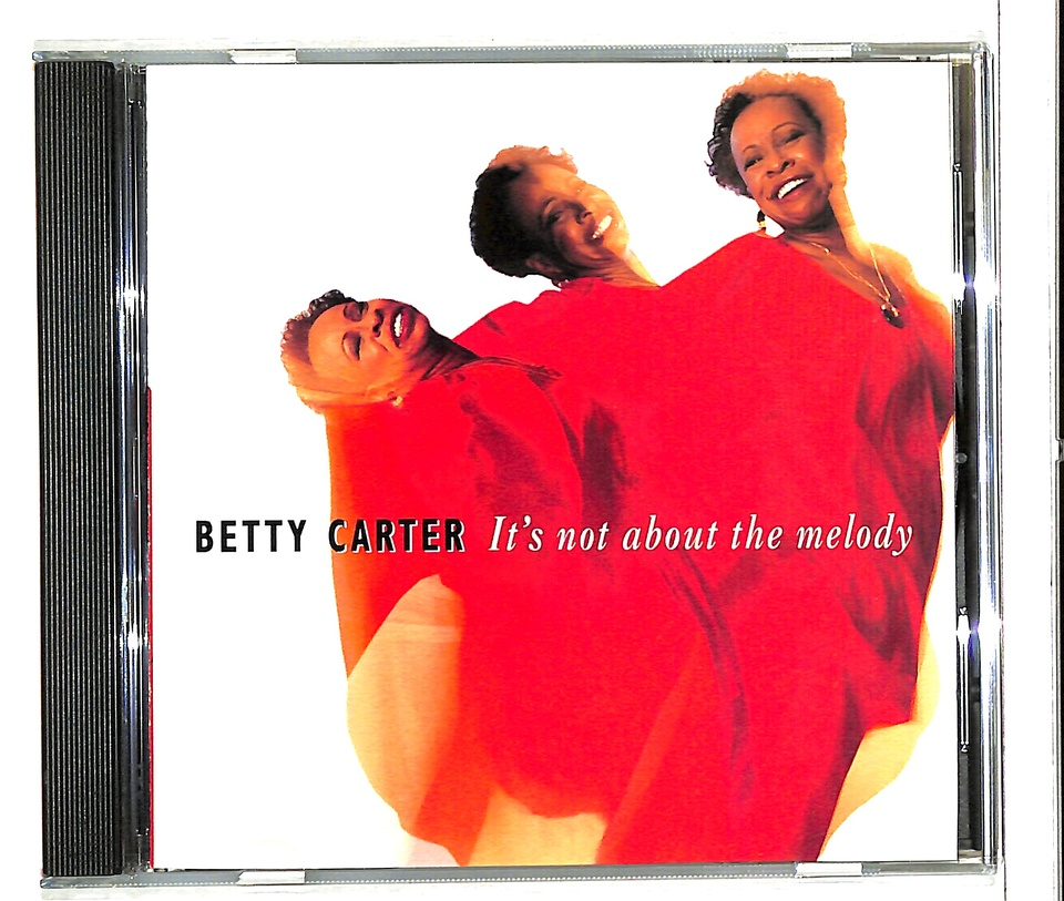 IT'S NOT ABOUT THE MELODY/BETTY CARTER BETTY CARTER 画像