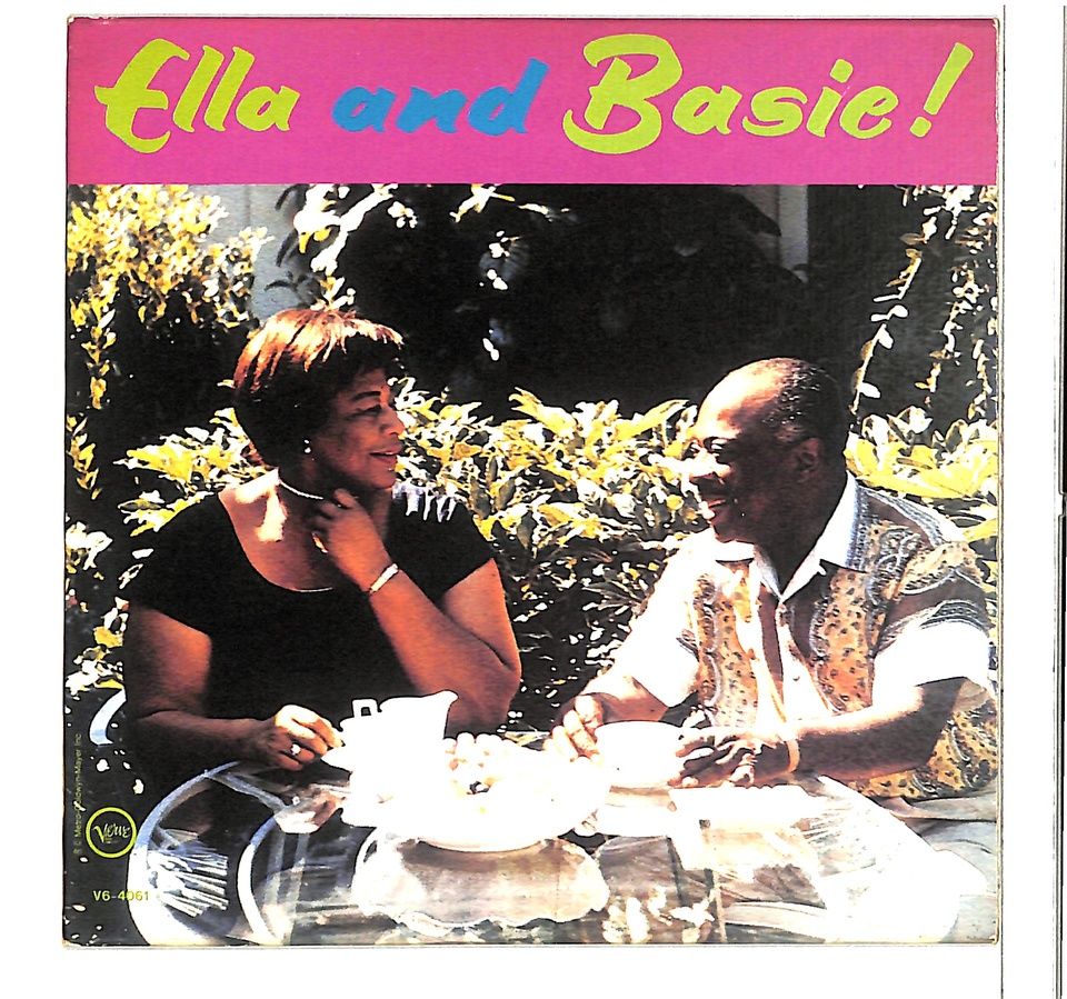 ELLA AND BASIE/ELLA FITZGERALD & COUNT BASIE AND HIS ORCHESTRA ELLA FITZGERALD 画像