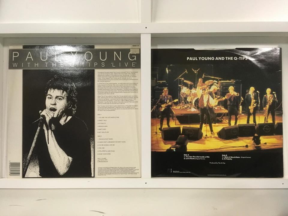 ポール・ヤング 4枚セット  画像