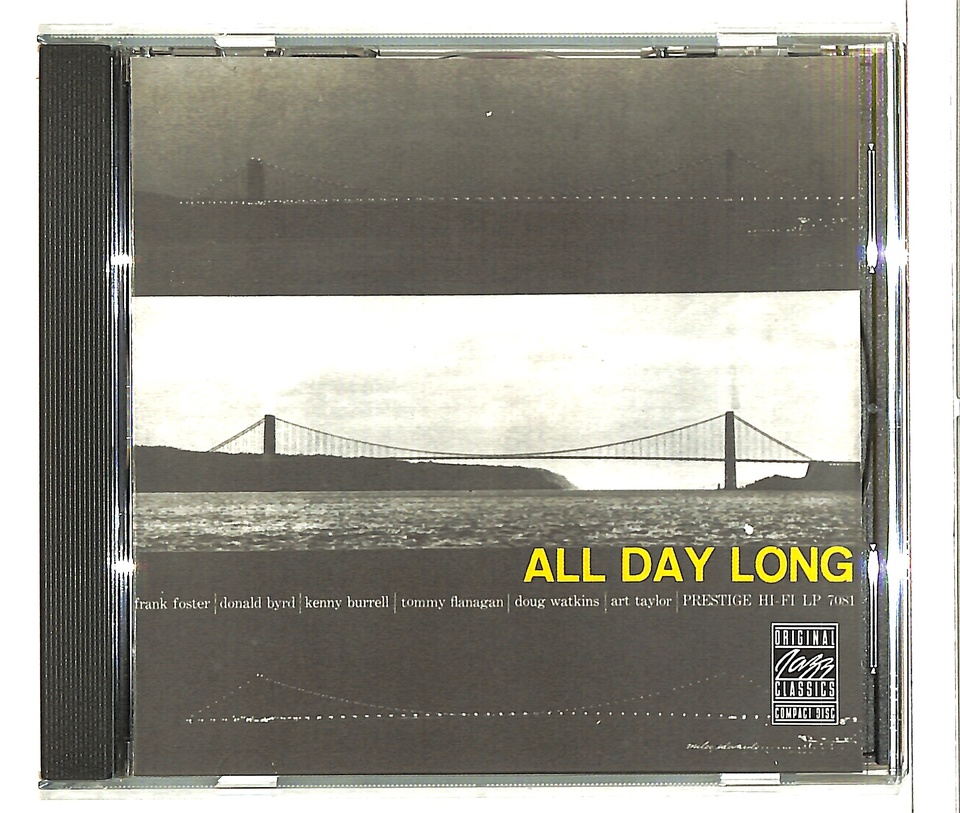 ALL DAY LONG/THE PRESTIGE ALL STARS KENNY BURRELL 画像