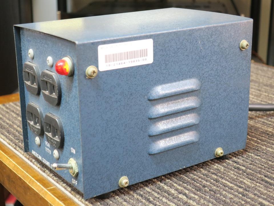 ステップアップトランス AMERCAN SOUND 画像