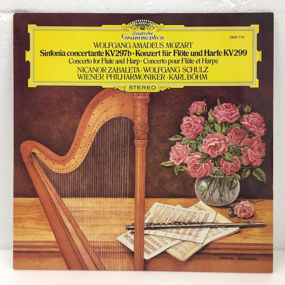 モーツァルト:フルートとハープのための協奏曲、協奏交響曲 モーツァルト 画像