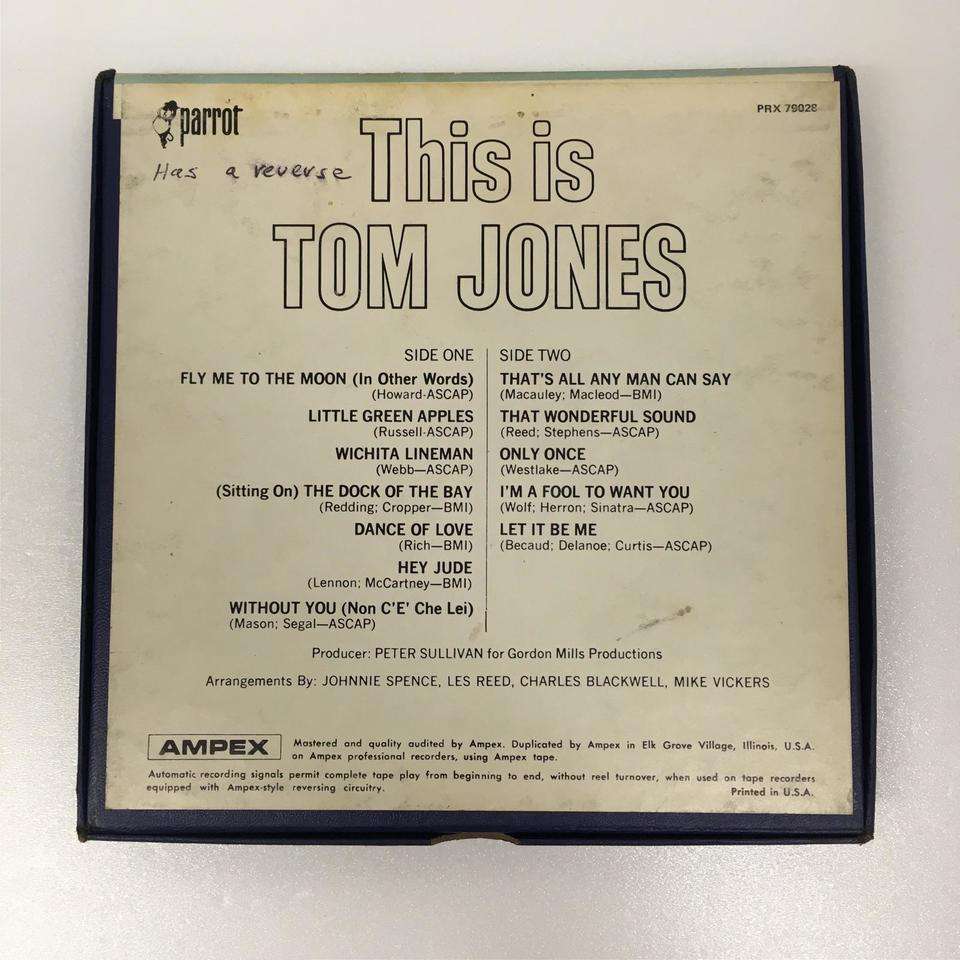 THIS IS TOM JONES TOM JONES 画像