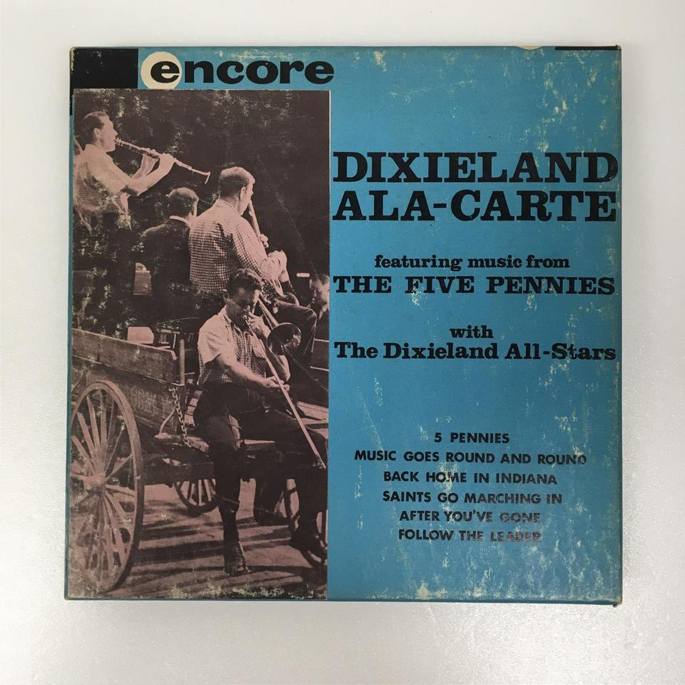 MUSIC FROM THE FIVE PENNIES THE DIXIELAND ALL-STARS 画像