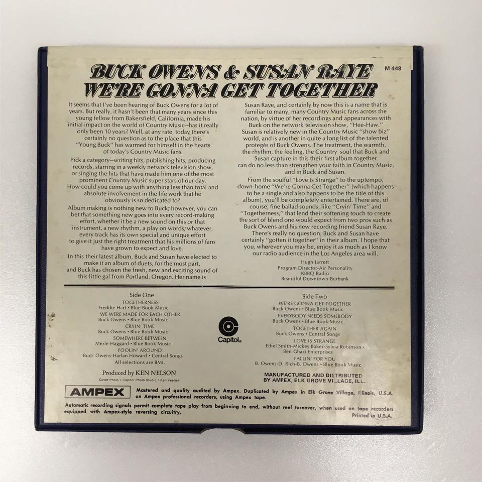 WE'RE GONNA GET TOGETHER/BUCK OWENS & SUSAN RAYE BUCK OWENS & SUSAN RAYE 画像