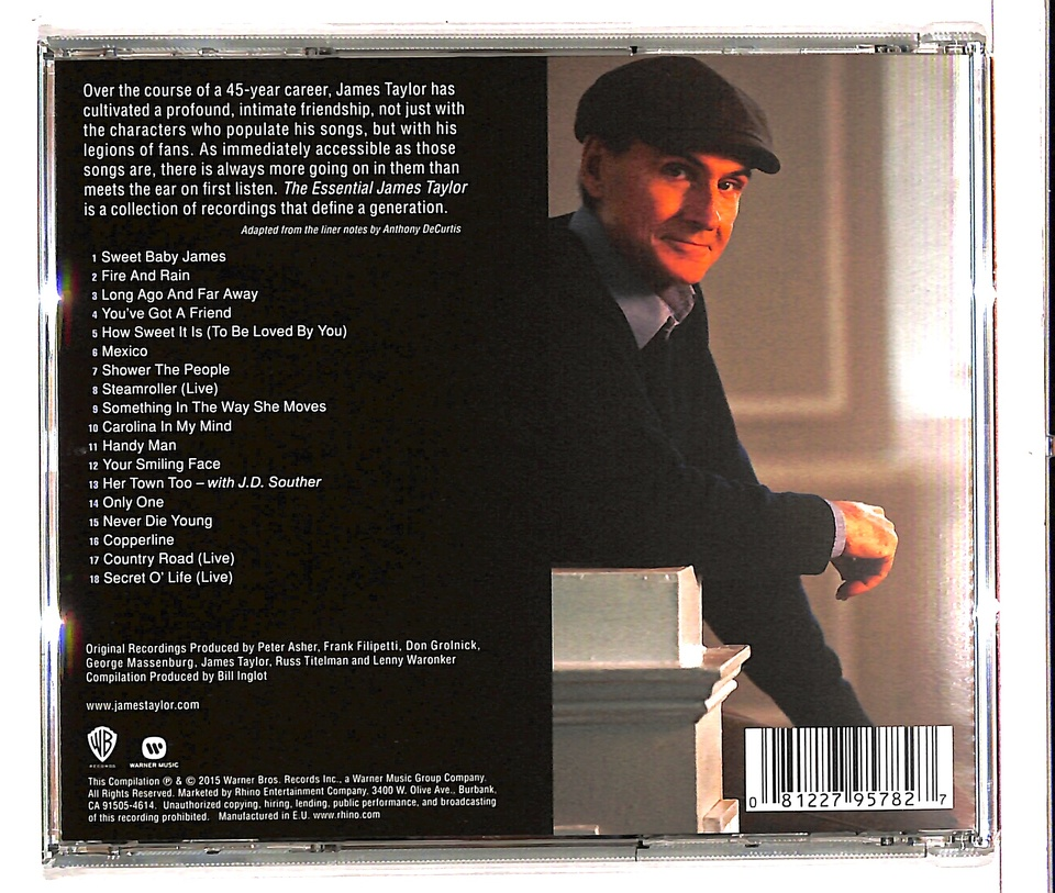 THE ESSENTIAL/JAMES TAYLOR  JAMES TAYLOR  画像