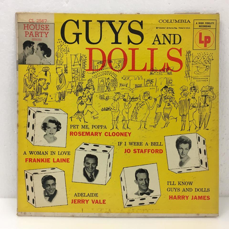 GUYS AND DOLLS V.A 画像