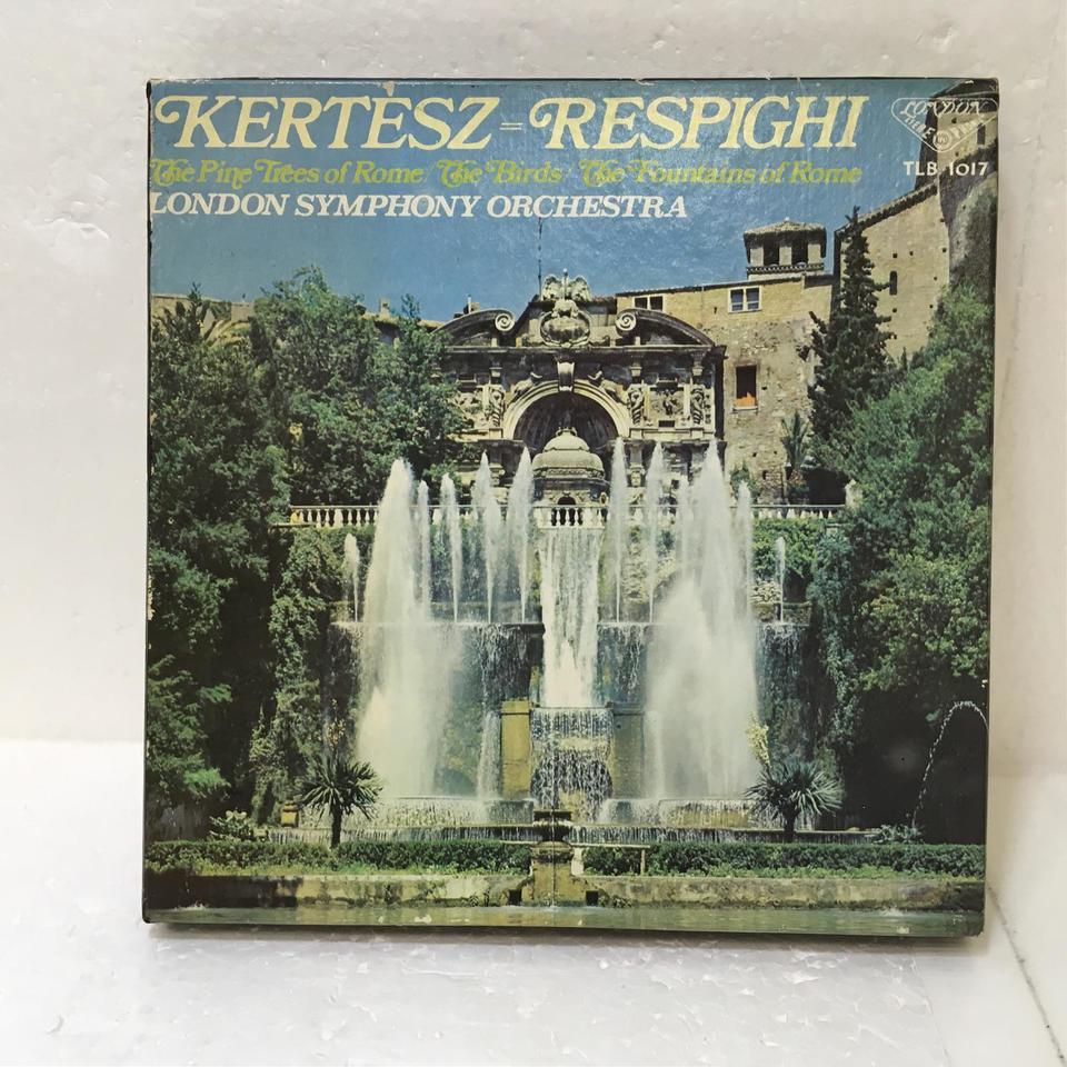 レスピーギ:交響詩「ローマの松」、組曲「鳥」 レスピーギ 画像