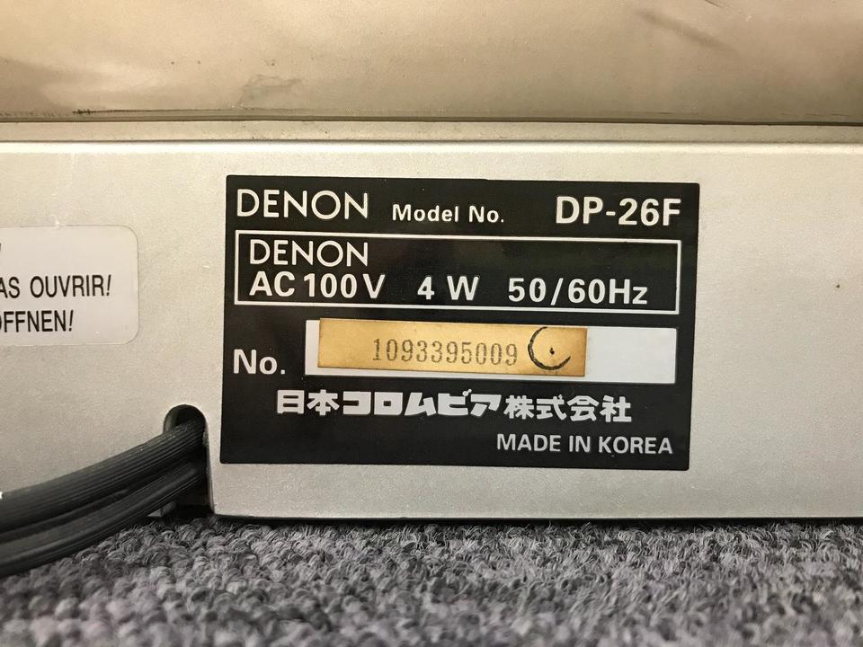 DP-26F DENON 画像