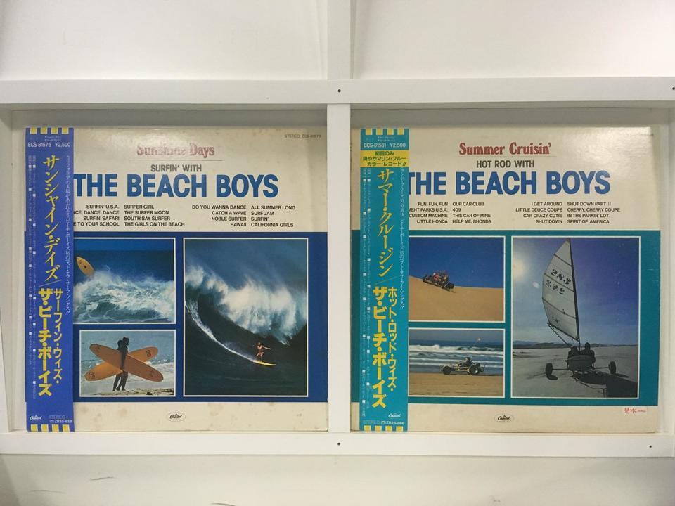 ザ・ビーチ・ボーイズ 2枚セット  画像