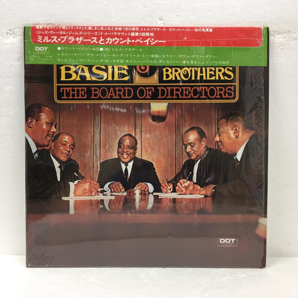THE BOARD OF DIRECTORS/COUNT BASIE & THE MILLS BROTHERS COUNT BASIE 画像