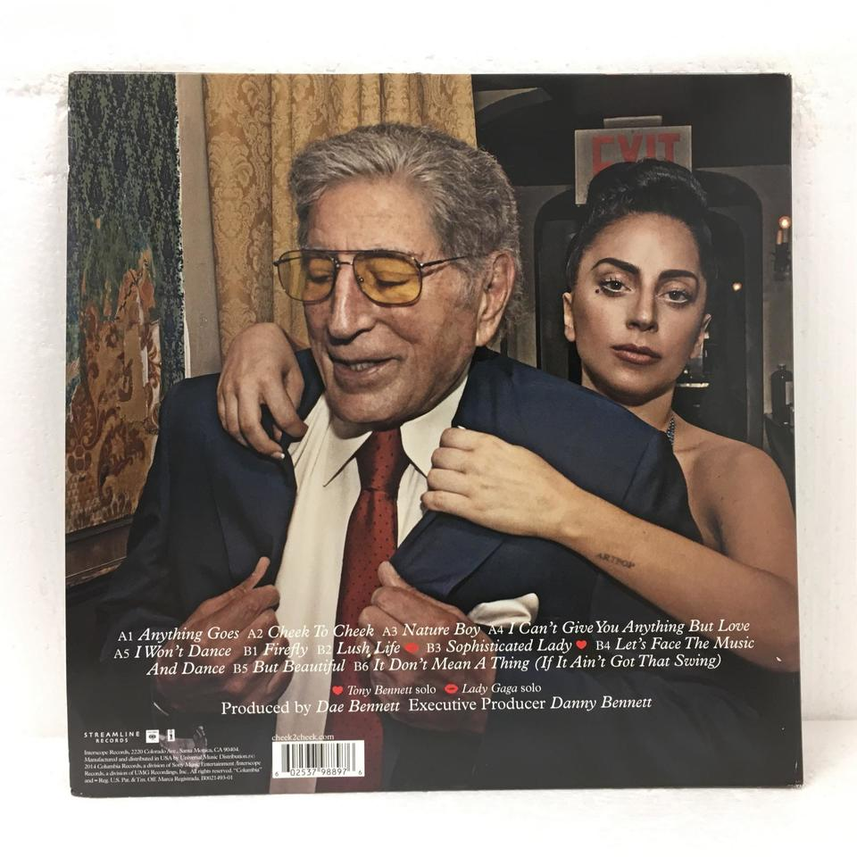 CHEEK TO CHEEK/TONY BENETT & LADY GAGA TONY BENETT & LADY GAGA 画像