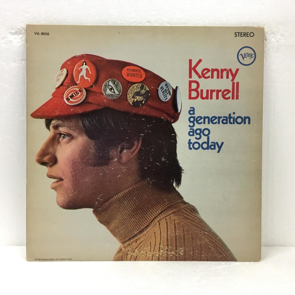 A GENERATION AGO TODAY/KENNY BURRELL KENNY BURRELL 画像