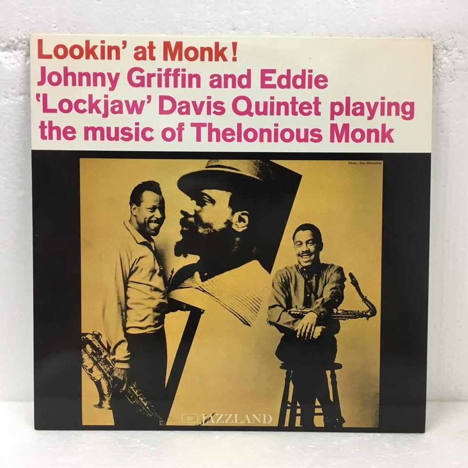 LOOKIN' AT MONK/JOHNNY GRIFFIN JOHNNY GRIFFIN 画像