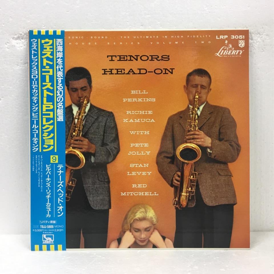 TENORS-HEAD-ON/BILL PERKINS - RICHIE KAMUCA BILL PERKINS/RICHIE KAMUCA 画像