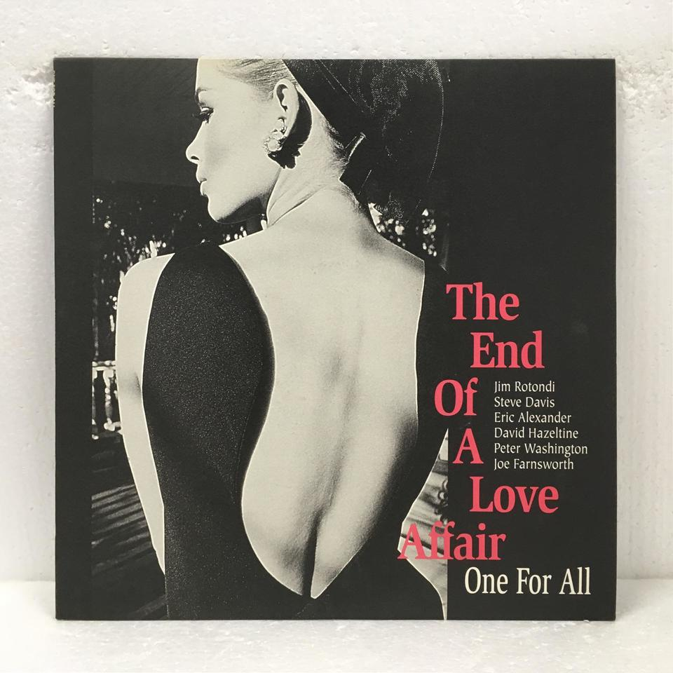 THE END OF A LOVE AFFAIR/ONE FOR ALL ONE FOR ALL 画像