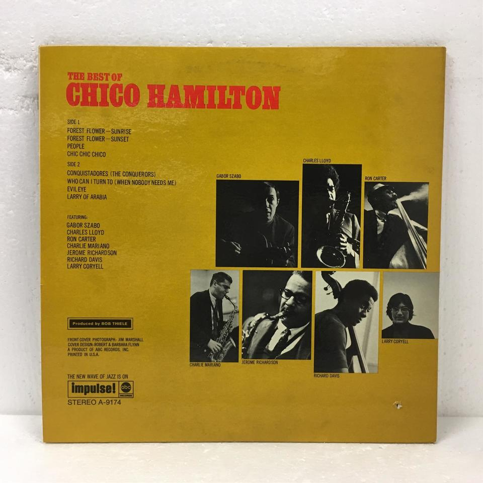 THE BEST OF CHICO HAMMILTON CHICO HAMMILTON 画像