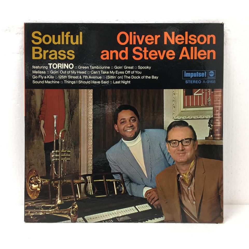 SOULFUL BRASS/OLIVER NELSON AND STEVE ALLEN OLIVER NELSON/STEVE ALLEN 画像